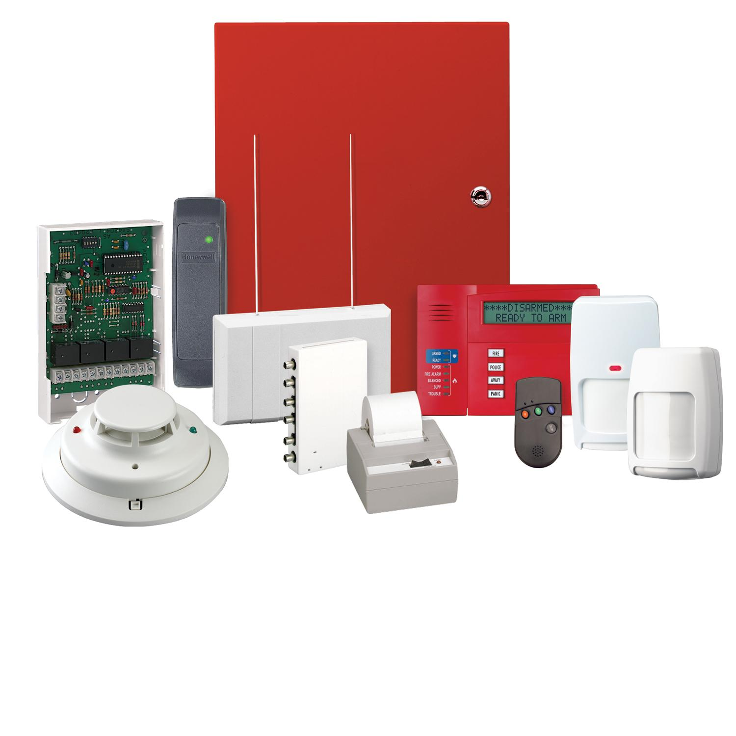 Combination Security/Fire Alarm Systems