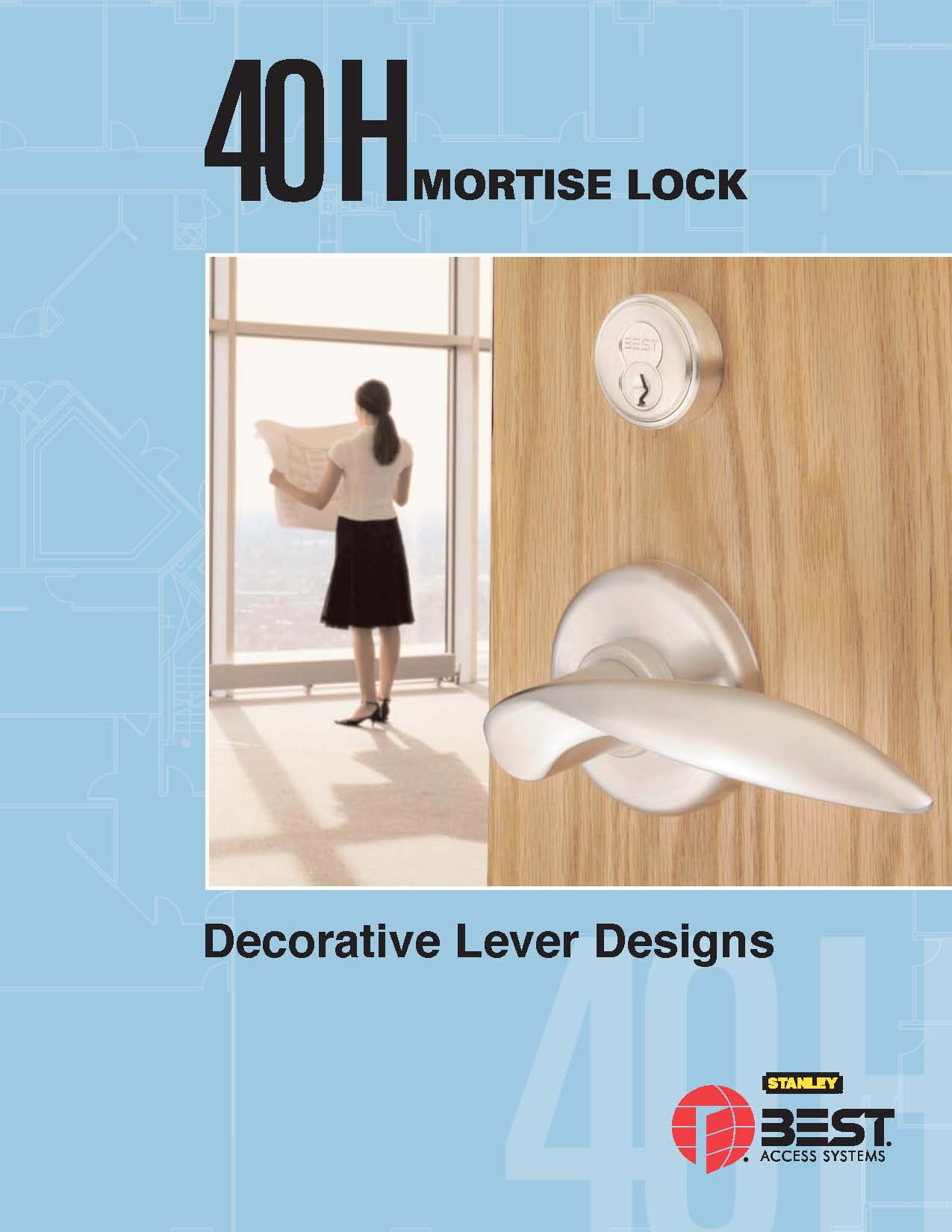 Pages from 40H Mortise Lock Decorative Lever