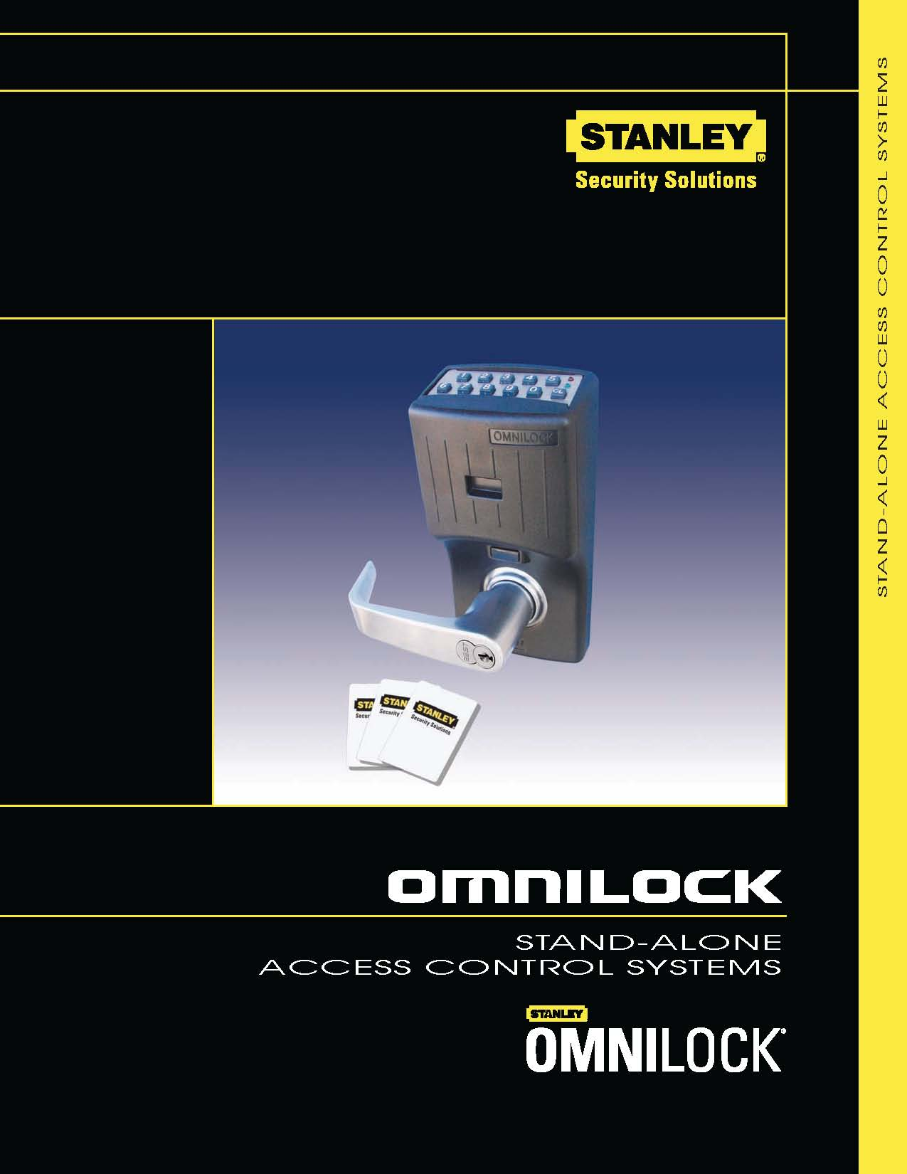 Pages from Stanley OMNILOCK Non-Wireless catalog