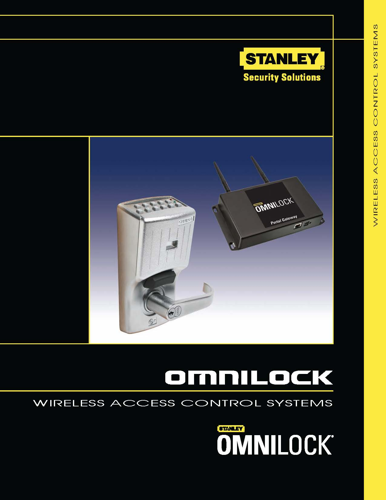 Pages from Stanley OMNILOCK Wireless catalog
